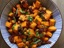 Süßkartoffel-Kichererbsen-Salat - Rezept