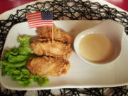 Southern Fried Chicken Wings mit Dip - Rezept