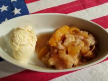 Peach Cobbler - Rezept