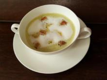 Bärlauch-Cappuccino - Rezept