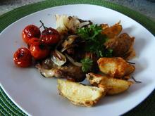 Knusprige Käse-Ofen-Kartoffeln - Rezept