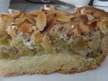 Rhabarber-Meringue-Kuchen - Rezept