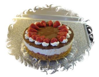 Rezept: Erdbeer-Schoko-Torte