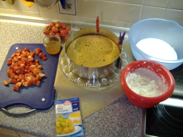 Erdbeer-Schoko-Torte - Rezept - Bild Nr. 2