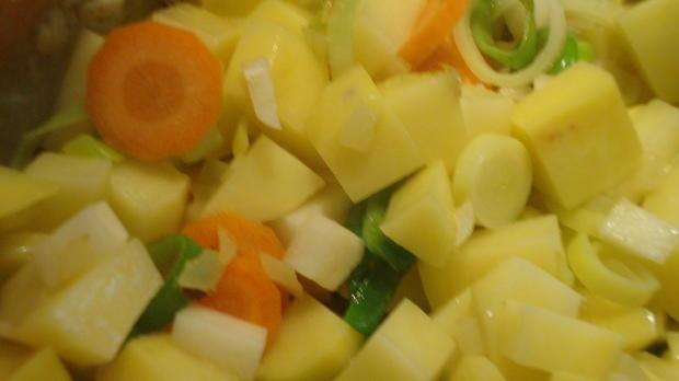 Kartoffel-Frischkäsecreme Süppchen - Rezept - Bild Nr. 6