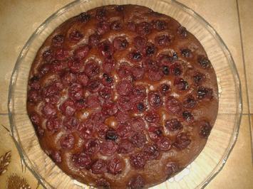 Schoko-Gewürz-Kirschkuchen - vegan - Rezept - Bild Nr. 2