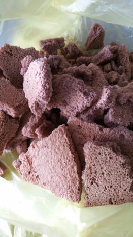 Schichtdessert ein Küchenunfall par exellence (Schoko-Biskuit) - Rezept
