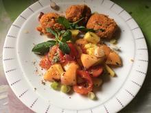 Mango-Melonen-Tomaten-Salat - Rezept