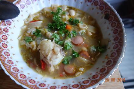 """Suppe - die """"überirdische"""" Gemeinschaftssuppe; - Rezept - Bild Nr. 19"""