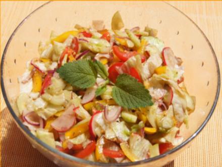 Salat à la Papa - Rezept