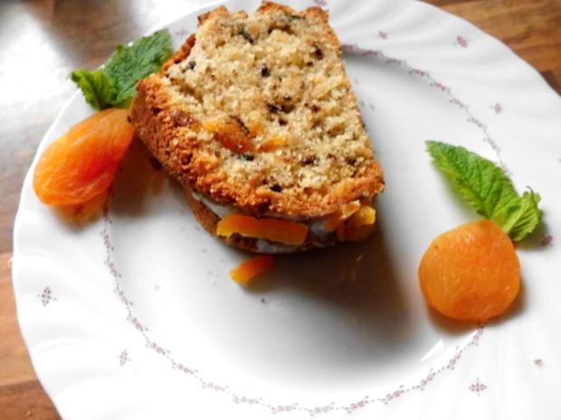 aprikosen-nusskuchen - Rezept