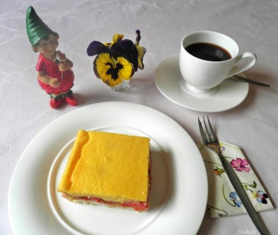 Kleiner Erdbeer - Rhabarber - Kuchen ... - Rezept - Bild Nr. 2