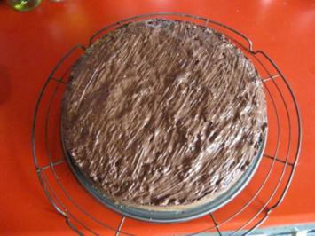 Rhabarber Nuss Sahne Kuchen - Rezept