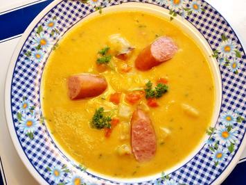 Möhren-Kartoffelsuppe ... - Rezept