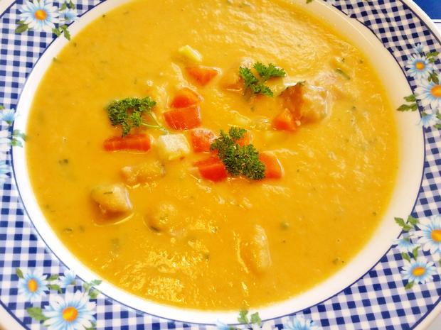 Möhren-Kartoffelsuppe ... - Rezept - Bild Nr. 4