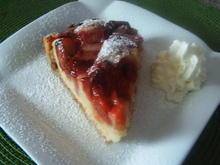Rhabarber-Erdbeer-Kuchen - Rezept
