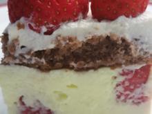 Erdbeer-Pfirsich-Joghurt Torte - Rezept - Bild Nr. 19