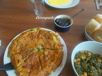 Tortilla de Esparragos verde - Rezept