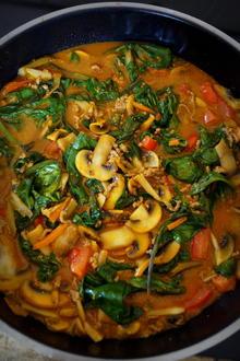 Hackfleisch-Gemüse-Curry - Rezept