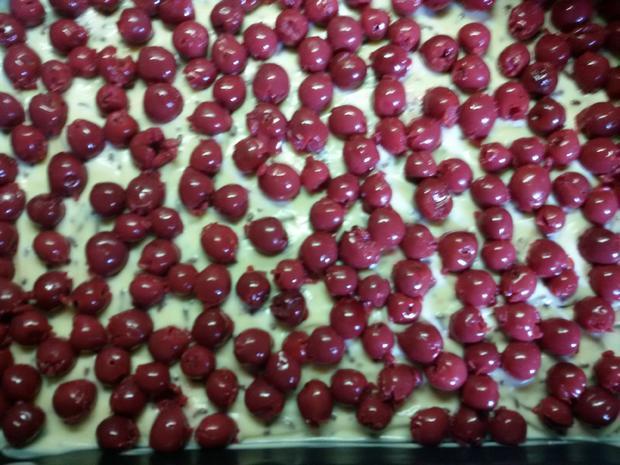 Schoko - Pudding - Kirschen - Kuchen - Rezept - Bild Nr. 3
