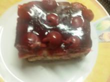 Schoko - Pudding - Kirschen - Kuchen - Rezept - Bild Nr. 4