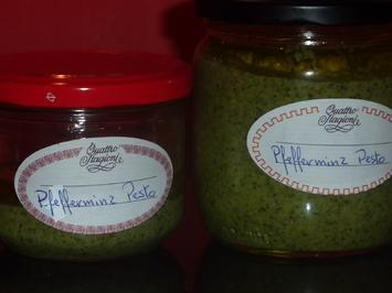Pfefferminz Pesto - Rezept