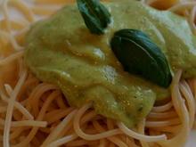 Dip oder Soße: Avocado-Pesto - Rezept