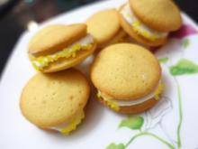 Kokos Whoopies mit Zitronencreme - Rezept