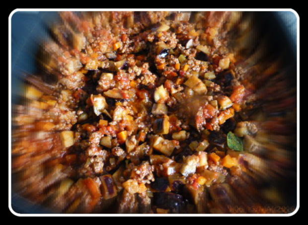 Lasagne mit gebratenen Auberginen - Rezept - Bild Nr. 6