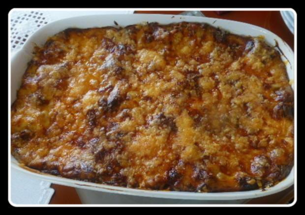 Lasagne mit gebratenen Auberginen - Rezept - Bild Nr. 9
