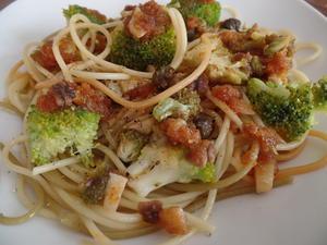 Broccoli-Spaghetti mit Bröseln - Rezept