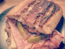 Sandwich mit Orangen-Senf - Rezept