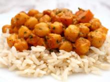 Kichererbsen Curry - Rezept