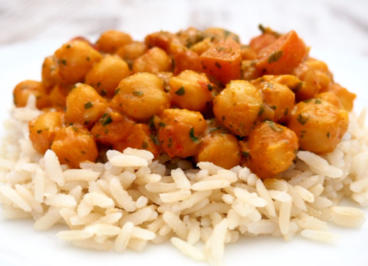 Kichererbsen Curry - Rezept
