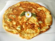 Spargel - Käse - Omelett - Rezept
