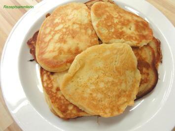 Rührteig:   PAN CAKES - Rezept
