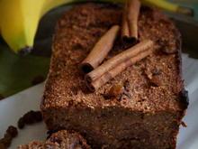 Gesunder Kuchen: Haferflocken-Bananen-Brot - Rezept