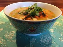 Tom Kha Gai - Thai Suppe mit Pak Choi - Rezept