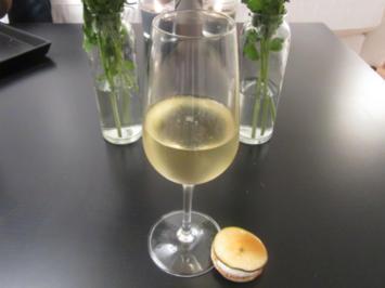 Birne Brûlée (Macarons mit Ziegenkäse und Birne) - Rezept