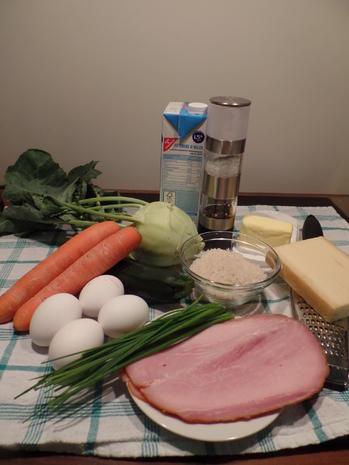 Gemüse-Reis-Schinken-Auflauf - Rezept - Bild Nr. 2