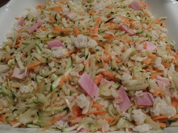 Gemüse-Reis-Schinken-Auflauf - Rezept - Bild Nr. 10