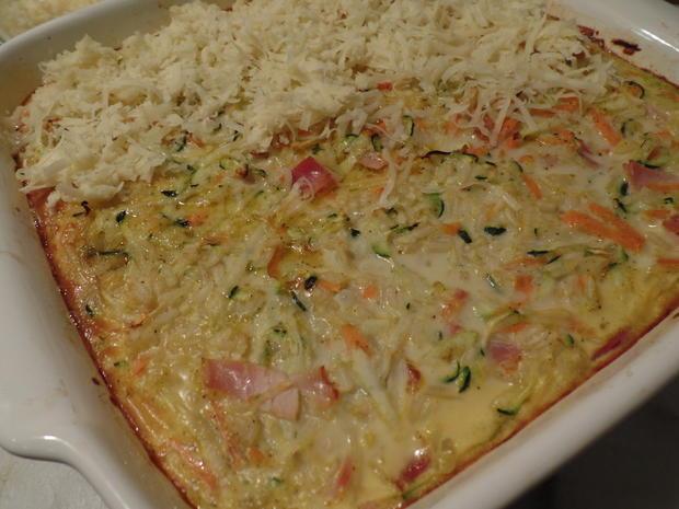 Gemüse-Reis-Schinken-Auflauf - Rezept - Bild Nr. 14