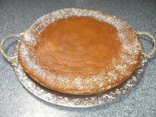 Rhabarberkuchen mit Sauerrahmguss - Rezept