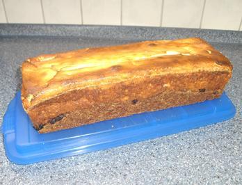 Schoko-Kirsch-Kuchen mit Quarkhaube - Rezept