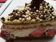 Erdbeer-Joghurt-Eistorte - Rezept - Bild Nr. 25