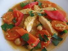 Orientalischer Hühnertopf - Rezept