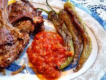 Scharfe Paprika auf türkische Art - Rezept