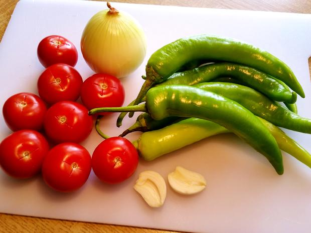 Scharfe Paprika auf türkische Art - Rezept - Bild Nr. 3