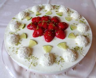 Erdbeer - Limetten - Torte - Rezept - Bild Nr. 2