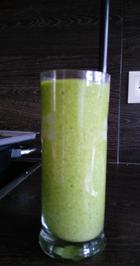 Rezept: grüner Smoothie